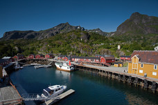Fishing Village Nusfjord Norway 12455