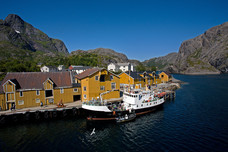 Fishing Village Nusfjord Norway 9147