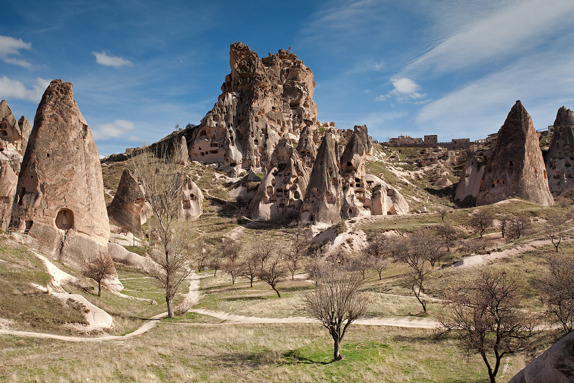 Uchisar Castle - Cappadocia - Turkey - 11786 - Aivar Mikko Photography